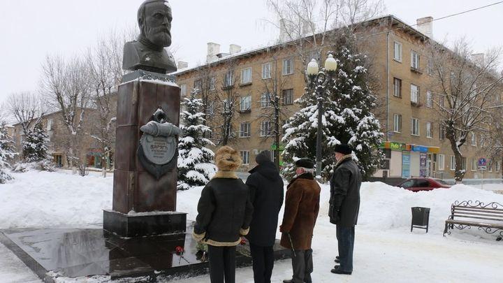 В Новомосковске отметили 117-ю годовщину героического подвига экипажа крейсера «Варяг»