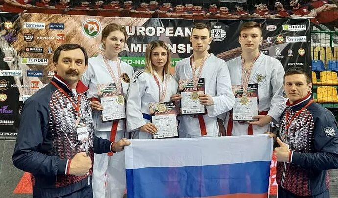 Тульские рукопашники стали чемпионами Европы