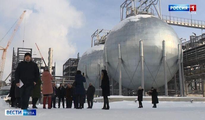 Областные депутаты на «Щёкиноазоте» обсудили меры поддержки бизнеса