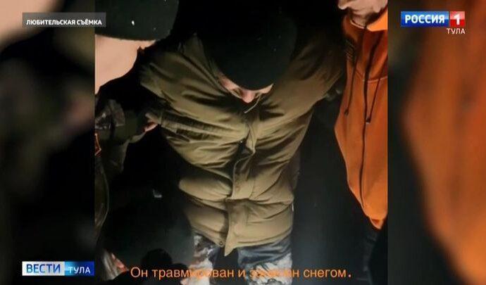 В Ясногорском районе общими усилиями спасли пропавшего мужчину