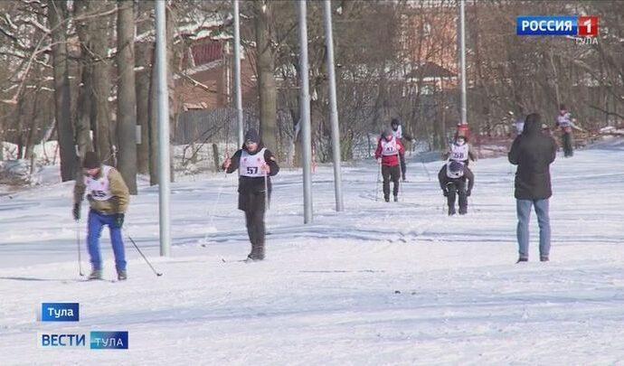 В Туле прошли областные соревнования по лыжным гонкам среди инвалидов