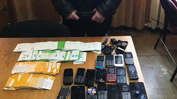 В плавскую колонию житель Подмосковья пытался передать почти 300 сим-карт