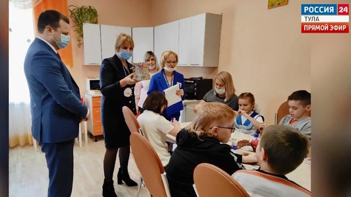 В Белеве отремонтировали социально-реабилитационный центр для несовершеннолетних