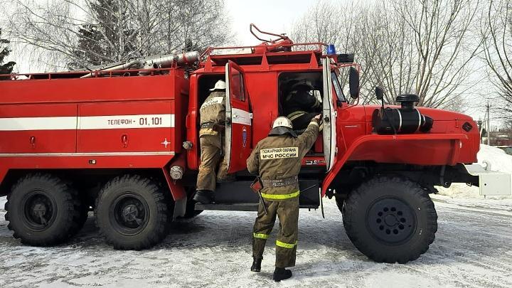 Куркинские спасатели (пожарные)