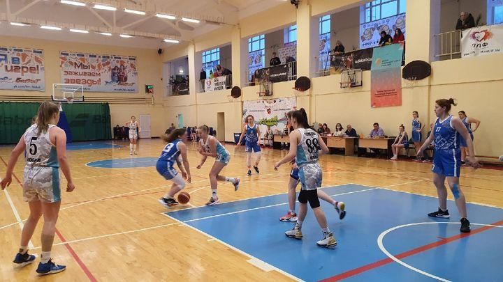 Тульские баскетболисты провели очередные матчи чемпионата Первой лиги