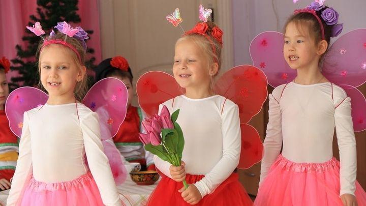 В Новомосковске дошколята представили мюзикл «Муха-цокотуха»