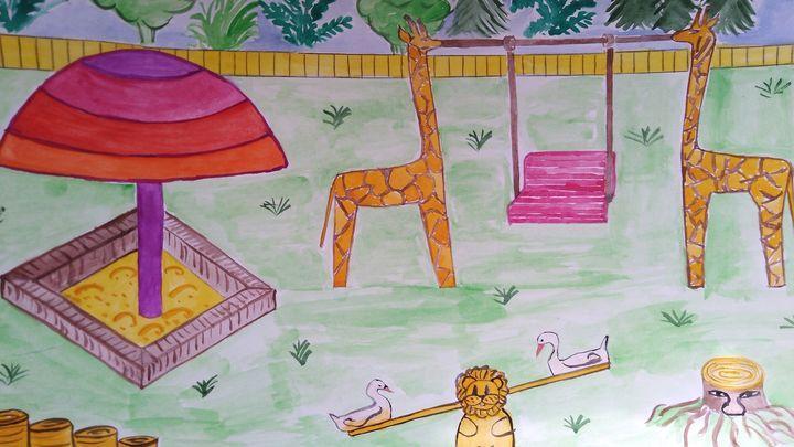 Алексинские школьники стали авторами дизайн-проекта детской площадки