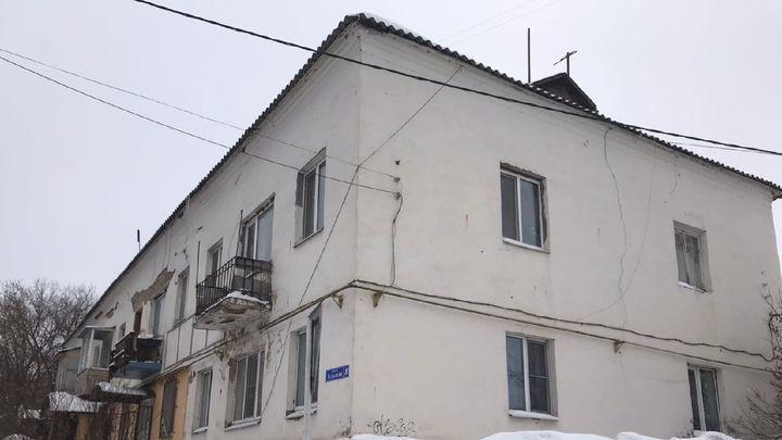 В Алексине многоквартирный дом «трещит по швам»