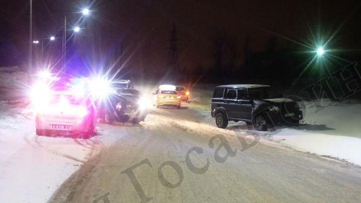 В Узловой в ДТП, устроенном пьяным водителем, пострадали три человека