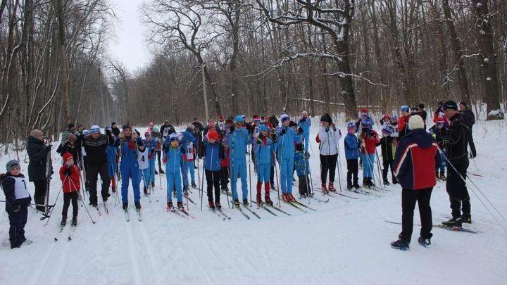 В Ефремове прошла семейная лыжная эстафета «Мы вместе»