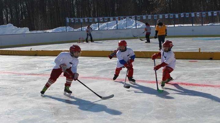 «Люблю папу, маму и хоккей!»: в Узловой прошел семейный фестиваль
