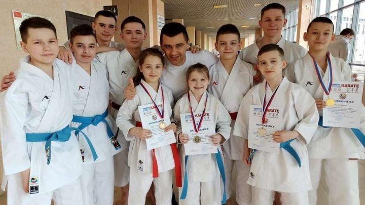 Щекинские каратисты привезли медали с Первенства ЦФО