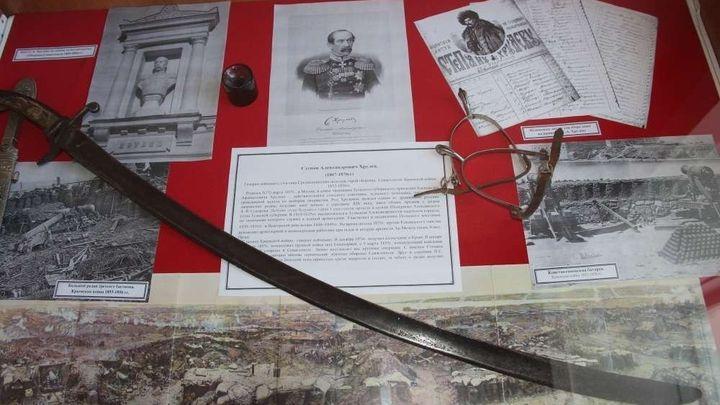 Гости алексинского музея узнают, как наши земляки Крым защищали