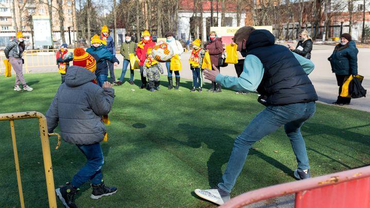 Михаил Левашов провёл экскурсию по Центральному стадиону «Арсенал» для детей с особенностями развития