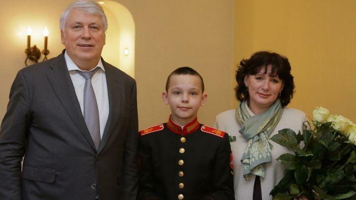 В Туле награда нашла внука героя