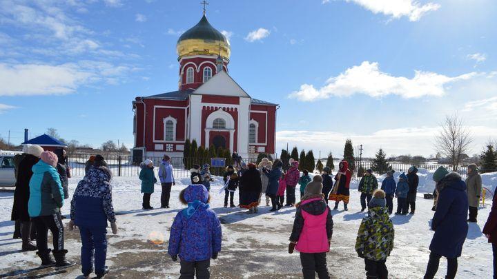 «Здравствуй, Масленица»: в воскресных школах губернии прошли праздничные гуляния