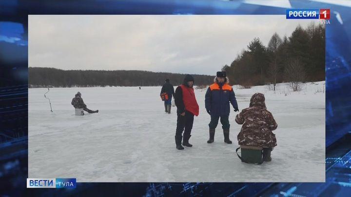 Фестиваль по ловле рыбы на мормышку со льда прошел в Белёвском районе