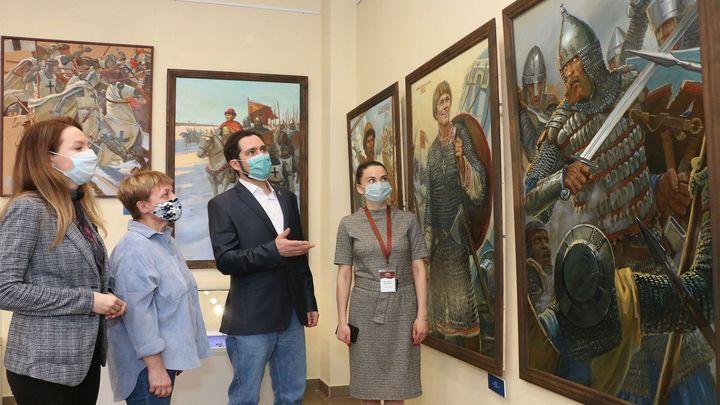 В Туле и Калининграде открылись выставки о прапрадеде Дмитрия Донского