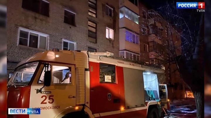 Из многоэтажки в Новомосковске эвакуировали 14 человек