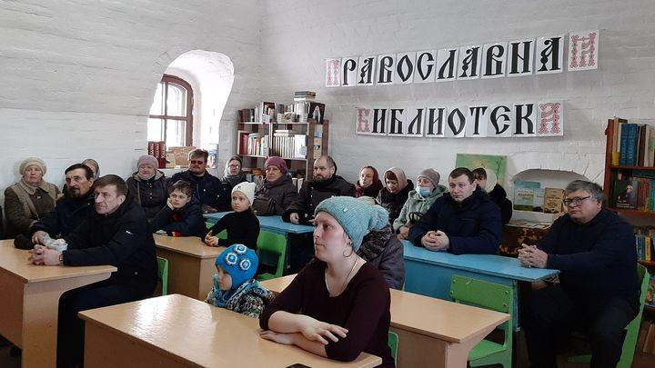 В Епифани открылась православная библиотека