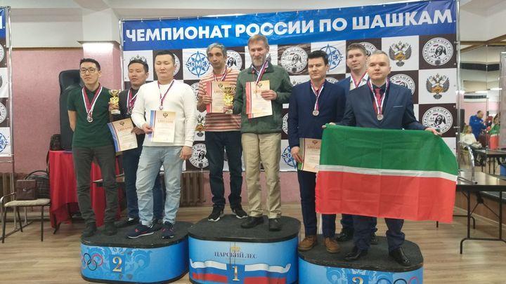 Тульские шашисты выиграли командный чемпионат России в быстрой программе
