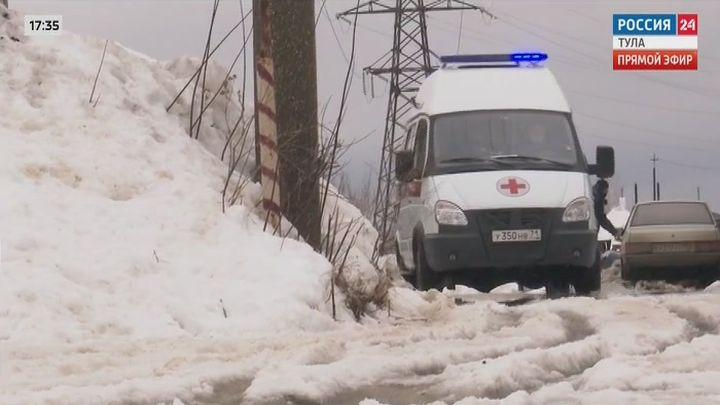 Обновленные автомобили скорой помощи в Тульской области вышли на линию