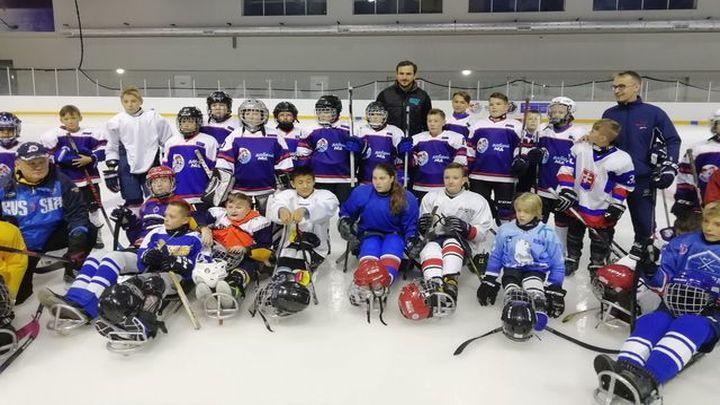 В Алексине проходят матчи Чемпионата России по следж-хоккею