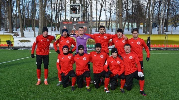 Новомосковские футболисты стали победителями зимнего первенства Тульской области