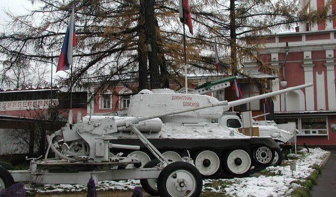 У туляков появилась возможность почувствовать себя танкистами колонны «Димитрий Донской»