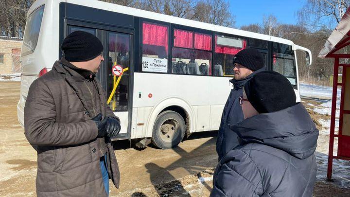 На маршруте №125 после жалоб туляков увеличили количество автобусов