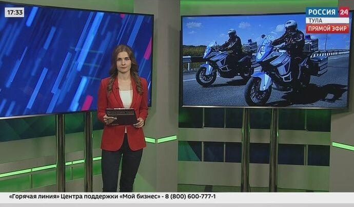 Россия 24 Тула. Эфир от 15.04.2021