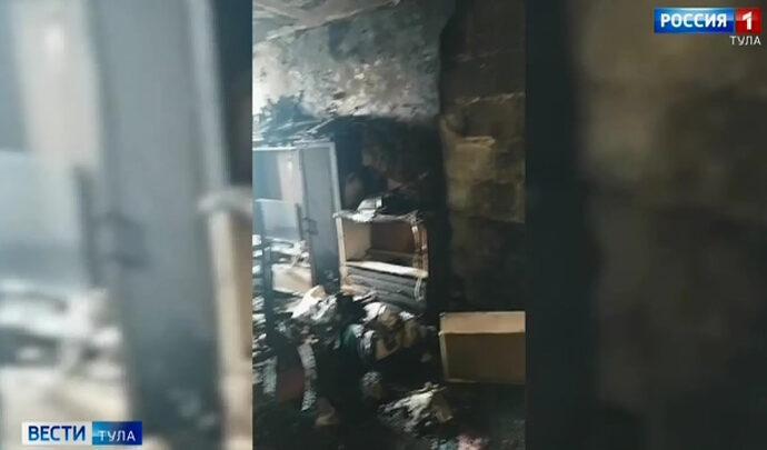 В Кимовске расследуют гибель двух малолетних детей