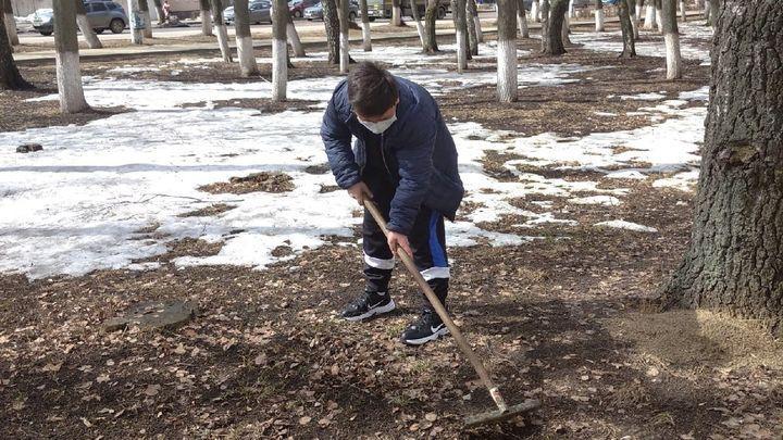В Алексине дали старт месячнику чистоты