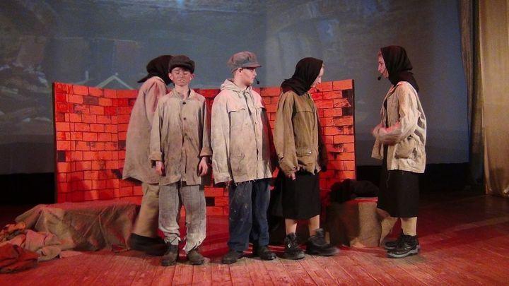 Коллектив из Арсеньево представил музыкальную постановку о детях войны