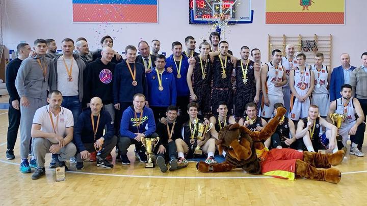 БК «Новомосковск» занял третье место в дебютном сезоне в Первой лиге ЦФО
