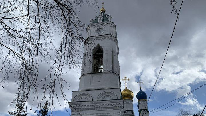 Православные верующие празднуют Благовещение Пресвятой Богородицы