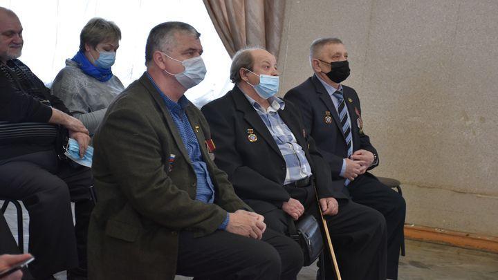 В городе Щёкино ликвидаторам аварии на ЧАЭС вручили медали