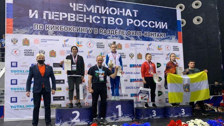 Тульские кикбоксёры завоевали семь медалей на чемпионате и первенстве России