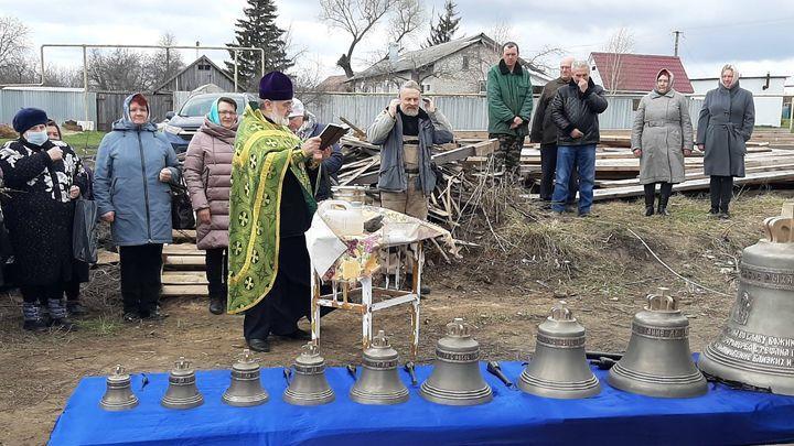 В селе Кузовка Богородицкого района зазвонят колокола