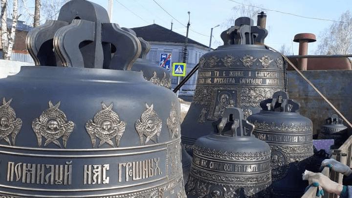 В Веневе освятят колокола для Николаевской колокольни