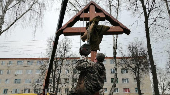 В Узловой заложили камень в основание будущего храма Матроны Московской