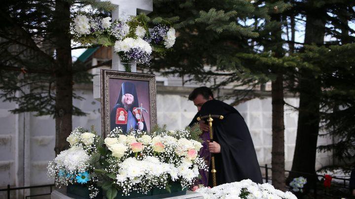 В Новомосковске почтили память архимандрита Лавра