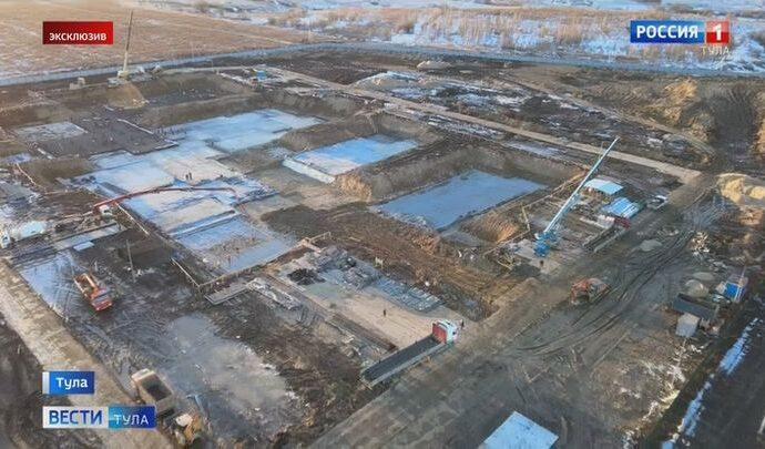 Завершены масштабные подготовительные работы для строительства нового онкоцентра в Туле