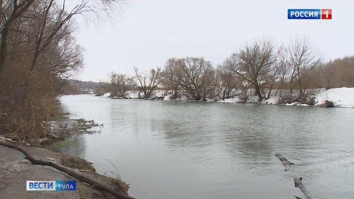 В Куркинском районе затопило низководный мост