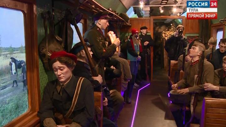 В Тулу прибудет поезд Победы
