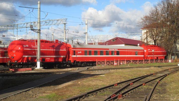 Пожарные поезда в Тульской области готовы к опасному периоду