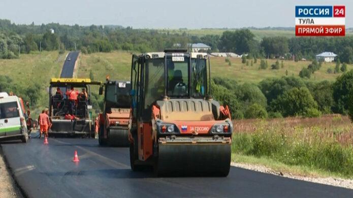 В Тульской области ремонтируют дороги, ведущие к туристическим объектам