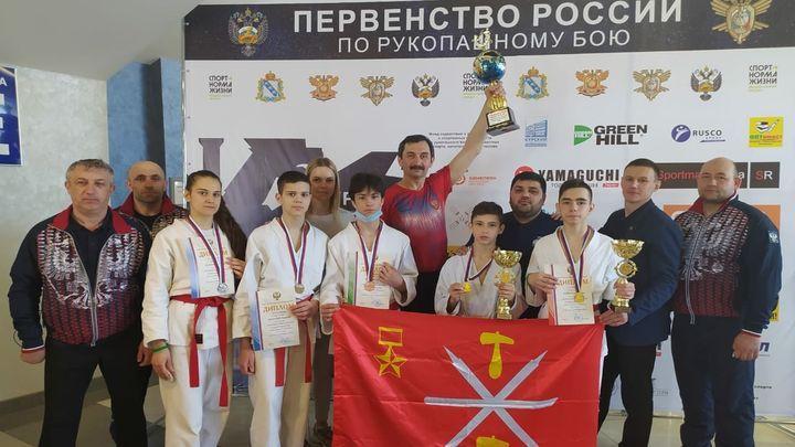 Тульские «рукопашники» завоевали 15 медалей на первенстве России