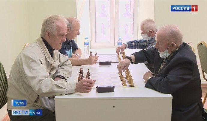 В Туле прошел шахматный турнир среди пенсионеров