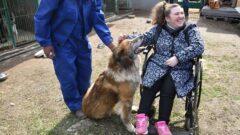 Туляки с инвалидностью посетили приют для бездомных животных